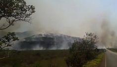ANDARAÍ AGORA A TARDE: Incêndio atinge Parque Nacional da Chapada Diamantina
