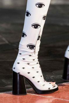 """Kenzo """"eye"""" boots"""