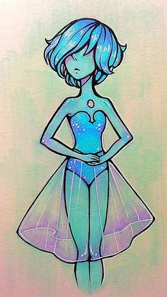 Blue Pearl by UmbrellaScylla