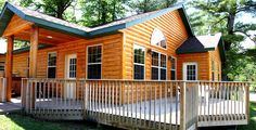 Large family (or multi-family) cabins are available!