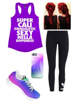 """Untitled #255"" by kirstenmyriehoran ❤ liked on Polyvore featuring adidas Originals"