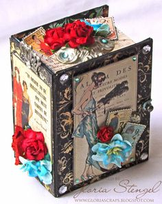 Scraps of Life: altered G45 box using G45 Couture papers