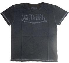 Von Dutch T-Shirt mit Print
