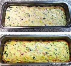 Leek and zucchini pie - Recetas - Pastel De Torta Cooking For Two, Cooking Tips, Cooking Recipes, Vegetable Recipes, Vegetarian Recipes, Healthy Recipes, Fish Recipes, Salada Light, Salade Healthy