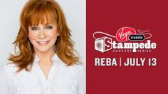 C'mon July!! Joining #ShaniaTwain and #KeithUrban at #Stampede2014 will be #RebaMcEntire, performing on July 13th!  What's your favourite song by Reba? #Calgary #YYC