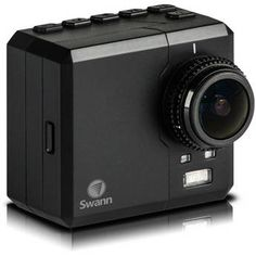 Swann Atom HD Wearable Action Camera with LCD SWVID-