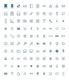 Freebie of this week is a set of 100 pixel-perfect icons created with vector shapes byPiotr Makarewicz, a talented Graphic Designer based i...