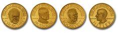 Medallas de Oro Jefes en la Segunda Guerra Mundial  Lee el artículo completo AQUI: Medallas de Oro Jefes en la Segunda Guerra Mundial  Medallas de Oro Jefes en la Segunda Guerra Mundial. Por Víctor Torrealba. La serie Medallas de Oro Jefes en la Segunda Guerra Mundial es una colección de medallas de oro emitidas en 1957 y 1959 por el Banco Italo Venezolano en Venezuela mostrando a los líderes mundiales de la época que fueron protagonistas de la Segunda Guerra Mundial. Aunque a estas piezas…
