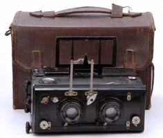 Stereo-Camera-Mackenstein-Paris-Lens-Zeiss-Krauss-Paris-Tessar-4-5-8-5cm