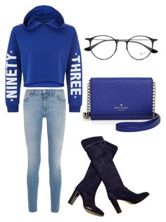 """""""Untitled #23"""" by secretxx on Polyvore featuring New Look, Givenchy, Loro Piana, Ray-Ban and Kate Spade"""