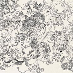 Javelin by James Jean *