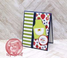 The Jolly Fat Elf: Mom's Week: Apron of Love Mother's Day Card