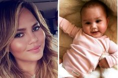 @chrissyTeigen Clapped Back Aft Someone Criticised How She Held Her #Baby - love her #shaming the mommy shamers XD