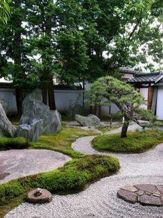 80 Wonderful Side Yard And Backyard Japanese Garden Design Ideas. If you are looking for 80 Wonderful Side Yard And Backyard Japanese Garden Design Ideas, You come to the right […]. Small Japanese Garden, Japanese Landscape, Japanese Garden Design, Japanese Gardens, Zen Gardens, Japanese Garden Backyard, Modern Backyard, Japanese Architecture, Easy Garden