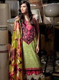 Pakistani dresses newest | ... latest Fashion: summer Lawn dresses designs prints latest Pakistani