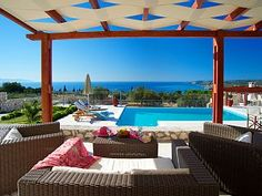 2 Bedroom Villas With Private Pool. Spacious Areas    - Villa Ainos of Lithos VillasHoliday Rental in Trapezaki from @HomeAwayUK #holiday #rental #travel #homeaway
