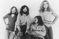 "Rock band ""Led Zeppelin"" poses for a portrait in John Paul Jones, Jimmy Page, John Bonham, Robert Plant. Get premium, high resolution news photos at Getty Images The Band, Robert Plant Led Zeppelin, John Paul Jones, John Bonham, Jimmy Page, Stairway To Heaven, Beatles, Hard Rock, Heavy Metal"