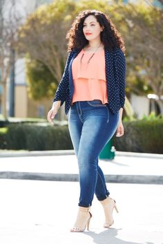 Plus Size Fashion for Women - Girl with Curves - Tanesha Awasthi for maurices