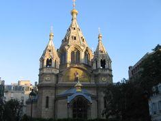 Cathédrale Orthodoxe Alexandre Newsky (néo-byzantine datant de 1861). à Paris