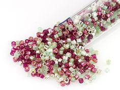 Artbeads Cranberry Bog Designer Blend, 11/0 Miyuki Delica Seed Beads