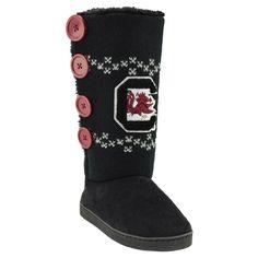 South Carolina Gamecocks Boots L, Women's, Size: Large