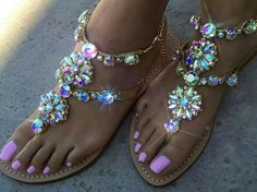 Sandália de Pedras