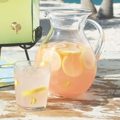 Peach-Mint Lemonade at Sur La Table