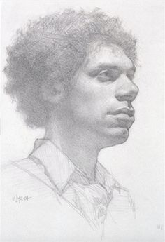 How to Draw Exhibition-Worthy Pencil Portraits in 6 Easy Steps  #pencilportraits #drawingdemos #nationalpencilday