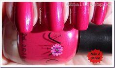 Esmalte nacional shimmer 360 Yenzah Nail Color YNC Rosa #nailpolish #esmaltesempre