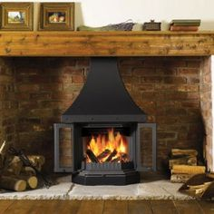 Dovre 2300CB Wood Burning Fireplace