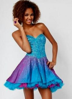 Imgs For > Turquoise And Purple Wedding Dresses