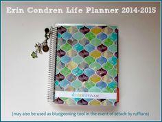 Dianne Sylvan: A Tour of My New Erin Condren Life Planner #eclifeplanner #fabfans #ecbloggers
