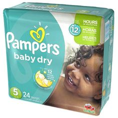 Buy Pampers Baby Dry Diapers Size 5 Jumbo 12 Hr Protection - 24 ea, 4pack | UltraAbsorb core helps keep baby dry and comfortable. myotcstore.com - Ezy Shopping, Low Prices & Fast Shipping.