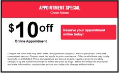 Schedule Your Car Service Quickly And Easily At Crown Nissan In Greensboro, North  Carolina.