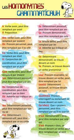 Les homonymes grammaticaux-1