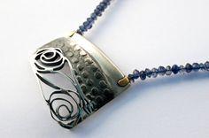 Alex Deharo | Sterling silver, oxidized sterling silver, 18k gold, semi precious stones