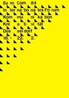 Loesch (Uwe, DE) 1984 Eurocom (Nowea) Plakat | Flickr - Photo Sharing!