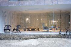 #Wohnzimmer Innenräume S Förmige Glaswände Verbinden Drinnen Und Draußen  #art #dekor #