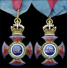 Order of Merit (Civil Division) - Badge (EIIR issue)