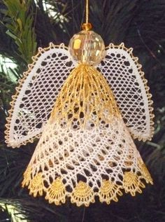 Lace Angel Pattern | Valentine's Day - 14th February Mother's Day - 15th March 2015 Easter ...