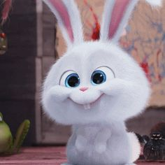 So innocently cute adorable Cartoon Cartoon, Cute Bunny Cartoon, Cute Cartoon Pictures, Cute Love Cartoons, Cute Pictures, Funny Bunnies, Cute Disney Wallpaper, Cute Cartoon Wallpapers, Snowball Rabbit