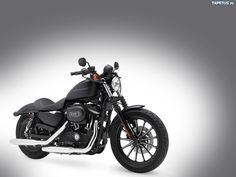 this is what my bike looked like before I customized it! Harley Davidson Sportster Iron 883