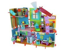 Roominate Dream House Architect so your daughter can build her dream house or mini city filled with structures that light up and whir!