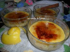 Crema catalana con gofio