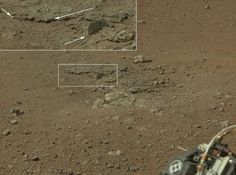 curiosity photos | New images from NASAs Curiosity rover shows an area excavated by the ...