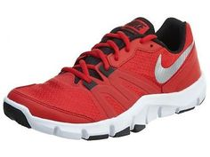 5466021bb0e3f Nike Flex Show Tr 4 Mens 807182-600 Red White Cross Training Shoes Size 9