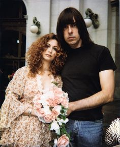 Linda and Johnny Ramones Wedding. There's the Johnny I know.