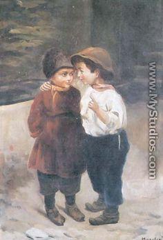 Boys - Konstantin Egorovich Egorovich Makovsky