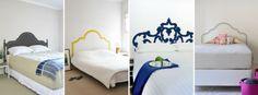Cabeceros de cama originales de pegatina. Fácil y cómodo de colocar.