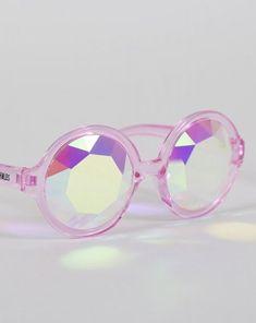 2d547c8c71 OG Pink Sunglasses - Life through pink kaleidoscope glasses.